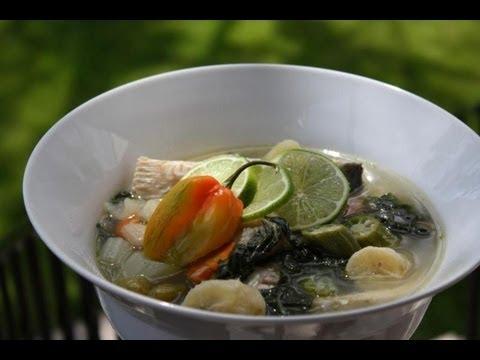 Fish broth broff caribbean fish soup jamaican videos for Trinidad fish broth