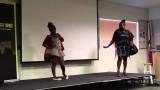 "Déjà Vu Theatre performs a Skit ""I am not Jamaican"" at the Anancy Festival 2014"