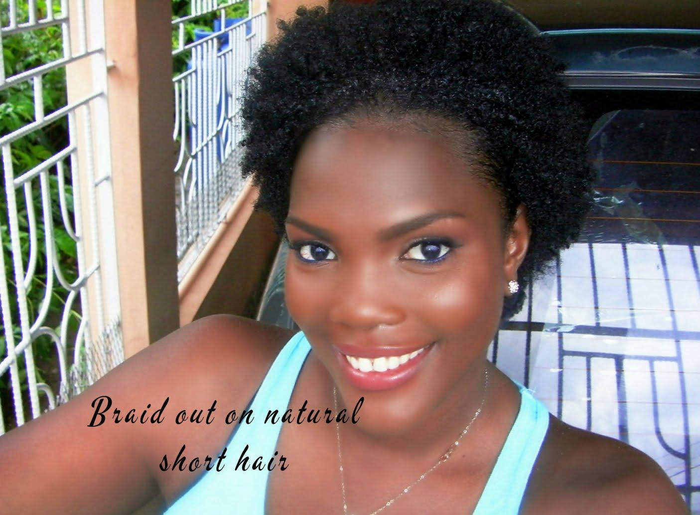 Braid Out On Natural Short Hair Jamaican Videos