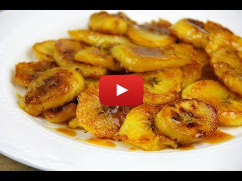 Orange Brown Sugar Glazed Plantains Recipe