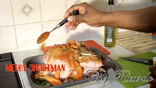 Christmas dinner roast: how to marinate roast chicken