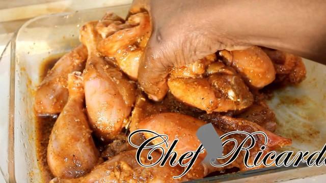 Ginger & Garlic Fried Chicken Marinated Before New Years Eve Full Recipe
