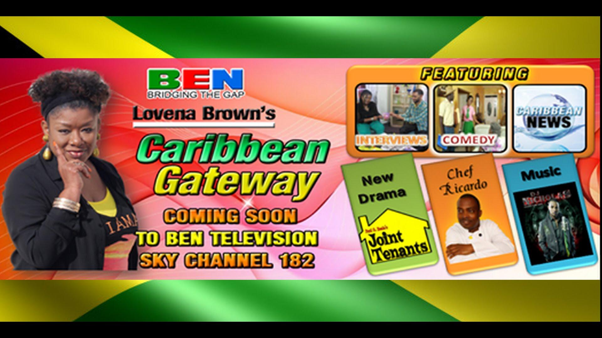 Caribbean Gateway On BENTV Sky TV CH 182 Chef Ricardo