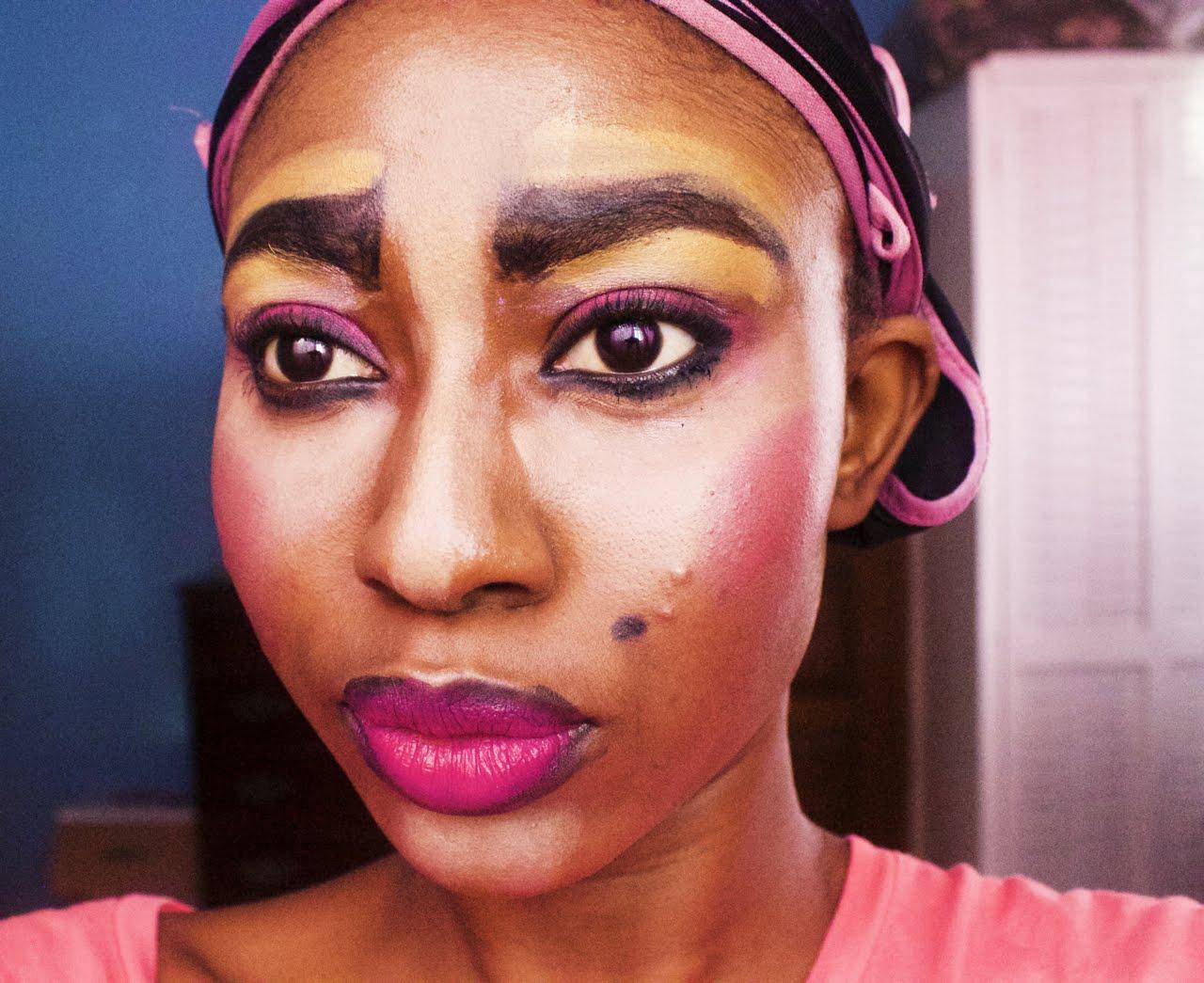 African Funny Makeup Tutorial