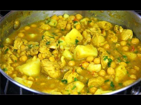 Curry chicken with chickpeas potato chris de la rosa jamaican curry chicken with chickpeas potato chris de la rosa jamaican videos forumfinder Gallery