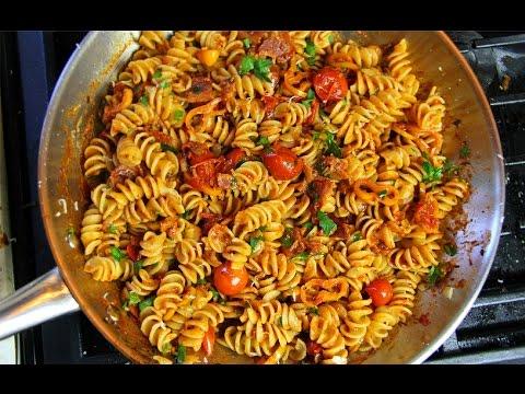 Quick bacon tomato pasta sauce recipe chrisdelarosa jamaican quick bacon tomato pasta sauce recipe chrisdelarosa jamaican videos forumfinder Images