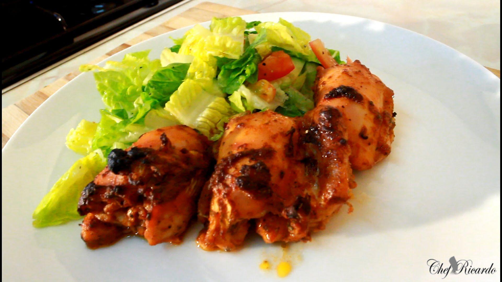 Jerk Chicken Salad Recipe For Summer Jamaican Jerk Chicken Jamaican Videos