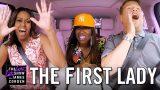 First Lady Michelle Obama Slays Carpool Karaoke