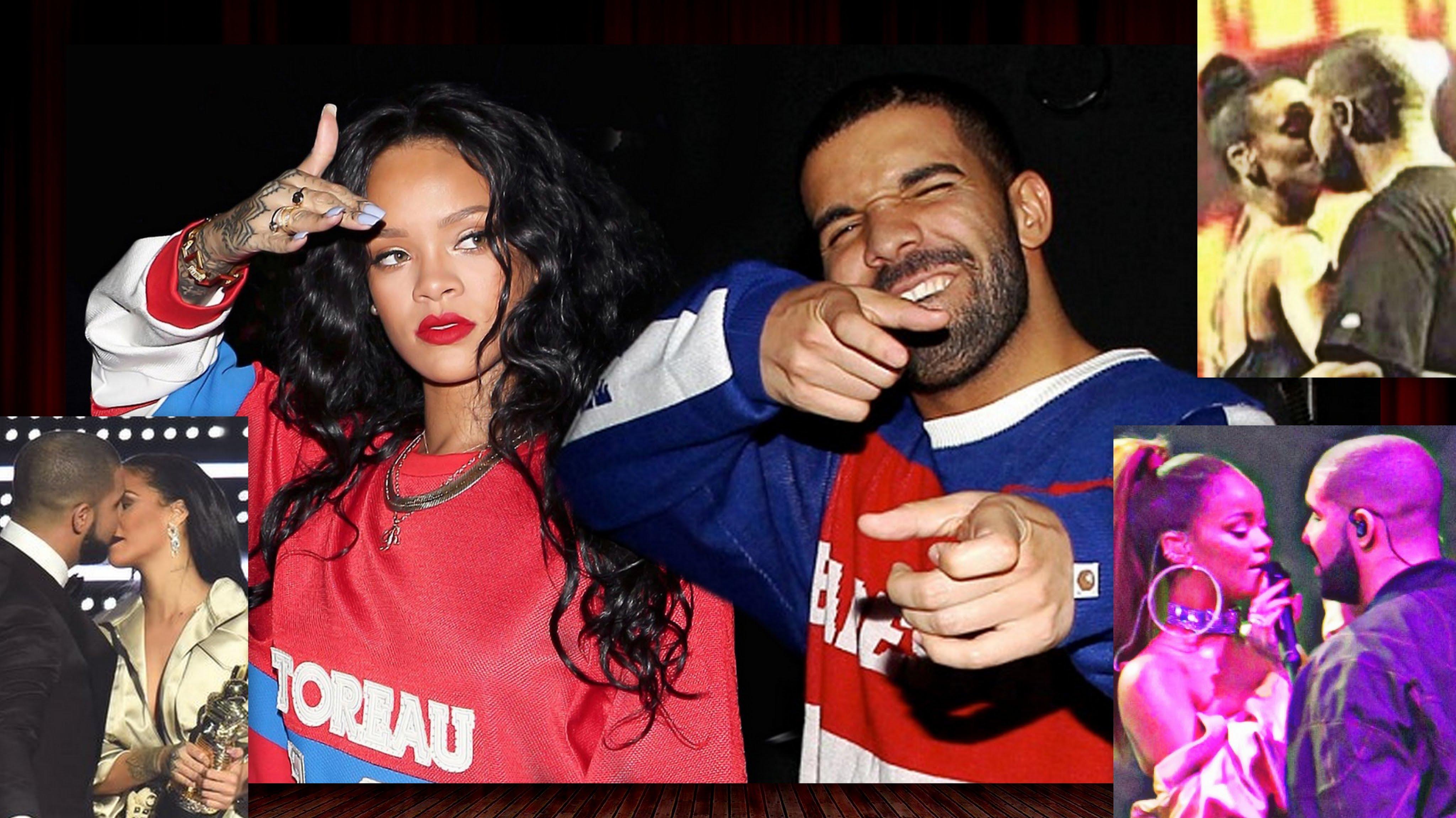 Dexta Daps Girlfriend : Rihanna finally kisses drake on stage jamaican videos
