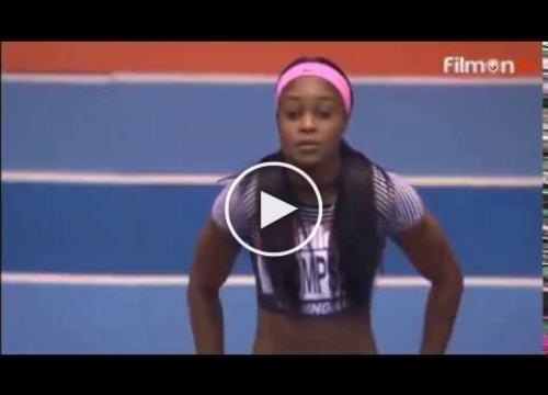 VIDEO: Elaine Thompson 6.98 WL Destroys the field women's 60m Birmingham Indoor Grand Prix 2017