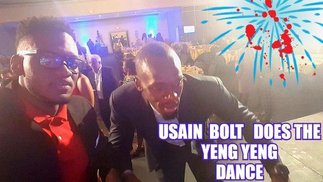 Usain Bolt and His Epic Dance Fail  #DoRoadWidDutty