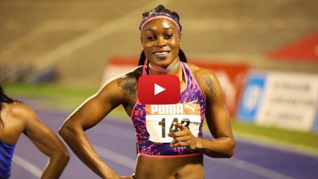 VIDEO: Elaine Thompson Clocks a World-Leading 10.71 At the Jamaica National Senior Champs