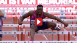 Jamaican Olympic Champion Omar McLeod Sets New Meet Record In Hungary