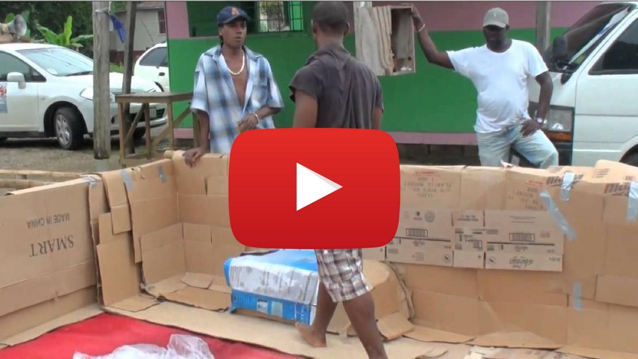 VIDEO: Jamaicans build a homemade