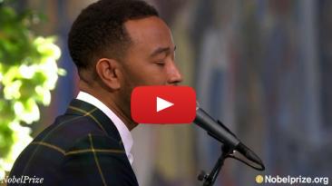 John Legend Sings Bob Marley Redemption Song