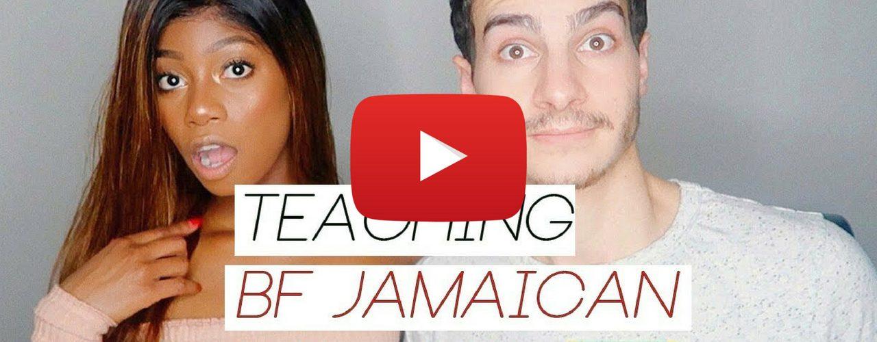 White Boyfriend Learns Jamaican Patois
