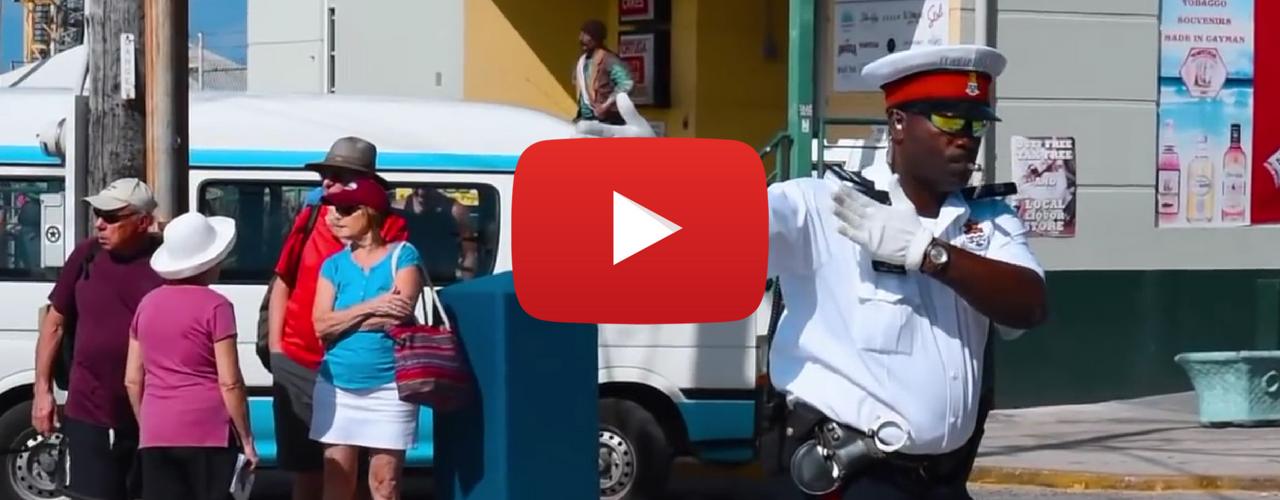 Dancing Policeman Fabian – Jamaican making people smile in Cayman
