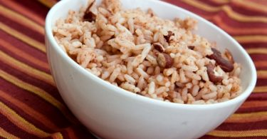 Jamaican rice and red peas recipe