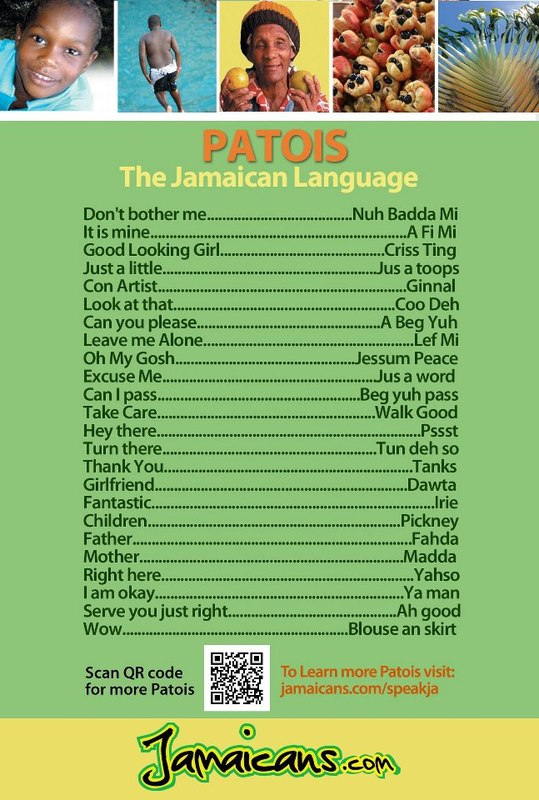 Essential Jamaican Patois Phrases Translated To English